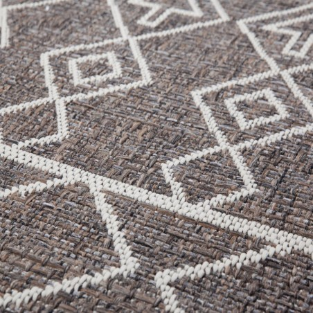 Zinder Geometric Rug - Beige Pattern Detail