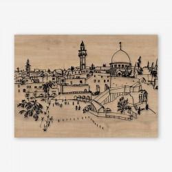 Cittadina Wooden Frame Close