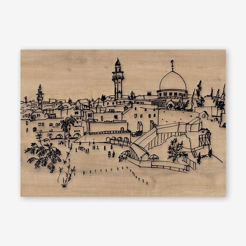 An image of Cittadina Wooden Frame