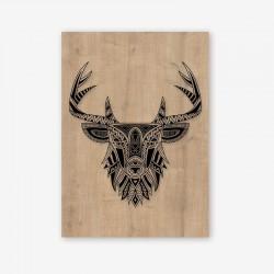 Cervo Wooden Frame Close