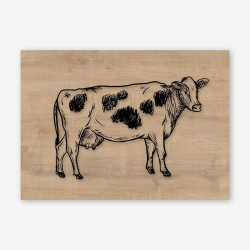 Mucca Wooden Frame Close