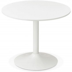 Rondon Round Dining Table - White