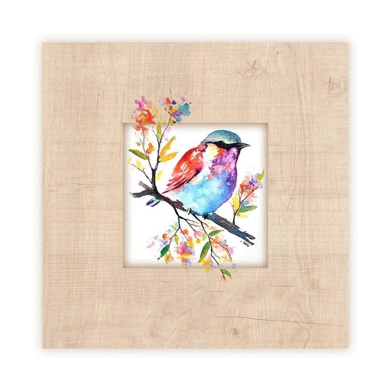 An image of Bird Wooden Frame