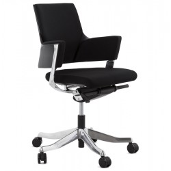 Peoria Office Chair - Black