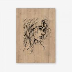 Mattina Wooden Frame Close