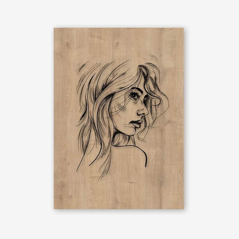 An image of Mattina Wooden Frame