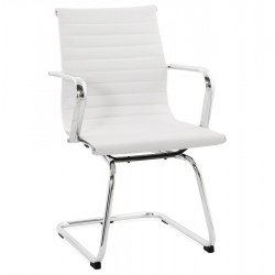 Austin Cantilever Office Chair - White