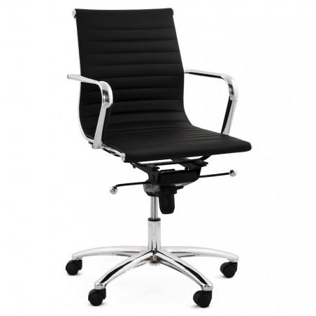Austin Short Back Office Chair - Black