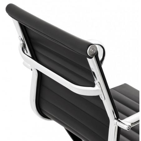Austin Short Back Office Chair - Black Back Detail