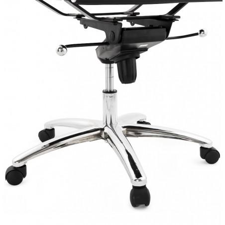 Austin Short Back Office Chair - Black Base Detail