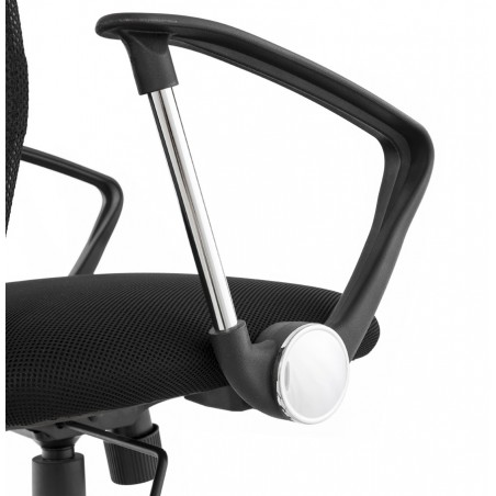 Hartford Mesh Office Chair Arm Detail