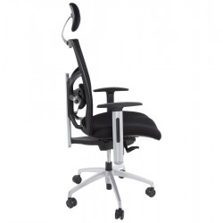 Mitchell Mesh Office Chair Side view