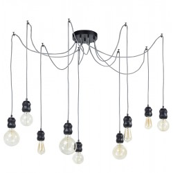 Lana Nine Light Chandelier Option 1