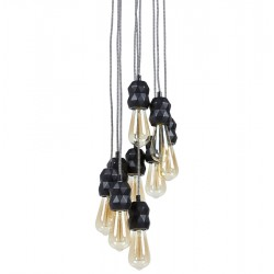 Lana Nine Light Chandelier Option 3