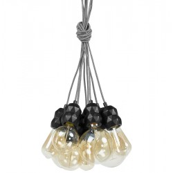 Lana Nine Light Chandelier Option 4