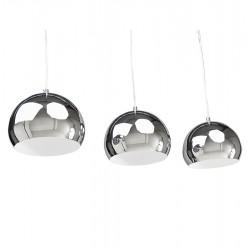 Tripa Dome Shade Ceiling Lamp - Chrome Option 1
