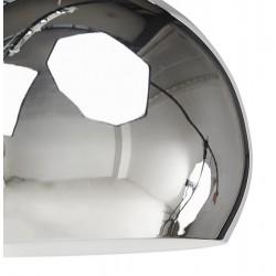 Tripa Dome Shade Ceiling Lamp - Chrome Shade Detail