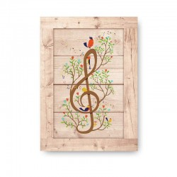 Musica Wooden Frame Close