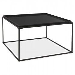 Loudo Black Coffee Table