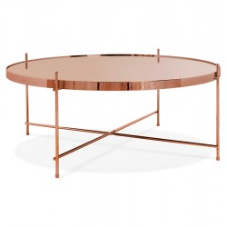 Espodra Large Coffee Table - Copper