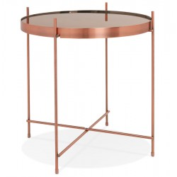 Espodra  Side Table - Copper