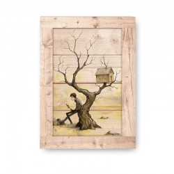 Tree House Wooden Frame Close