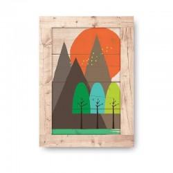 Tierra Wooden Frame