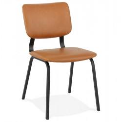 Coatana Faux Leather Dining Chair