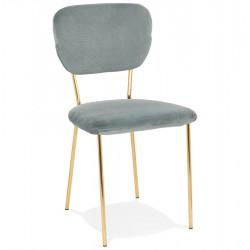 Chika Velvet Upholstered Dining Chair