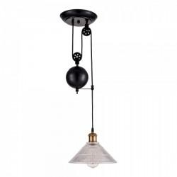 Vintage Pulley Ceiling Light