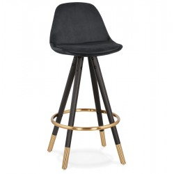 Carrie Designer Inspired 65cm Bar Stool - Black