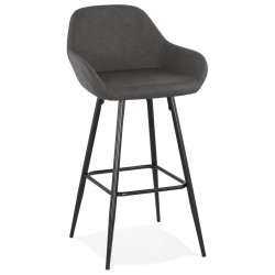 Ritta Faux Leather Bar Stool