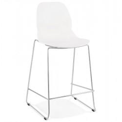 Hoagie Designer 67cm Bar Stool - White