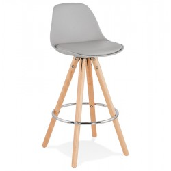 Allavare Scandi Inspired 64cm Bar Stool - Grey