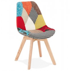 Kolour Patchwork Fabric Chair
