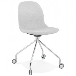 Ruleto Upholstered  Office Chair - Light Grey
