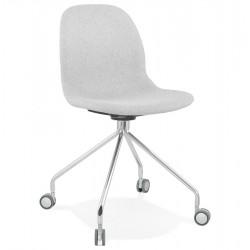 Ruleto Upholstered  Office Chair - Light Grey