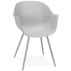 Stiletto Contemporary  Armchair - Grey