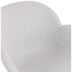 Sagia Fabric Upholstered Armchair - Seat Detail