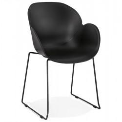 Roxanne Modern Armchair - Black
