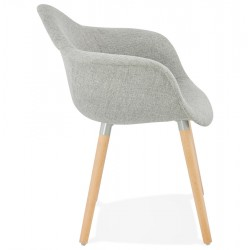 Loco Upholstered Armchair Side View