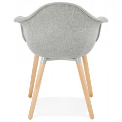 Loco Upholstered Armchair Rear View