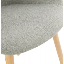 Loco Upholstered Armchair Seat Detail