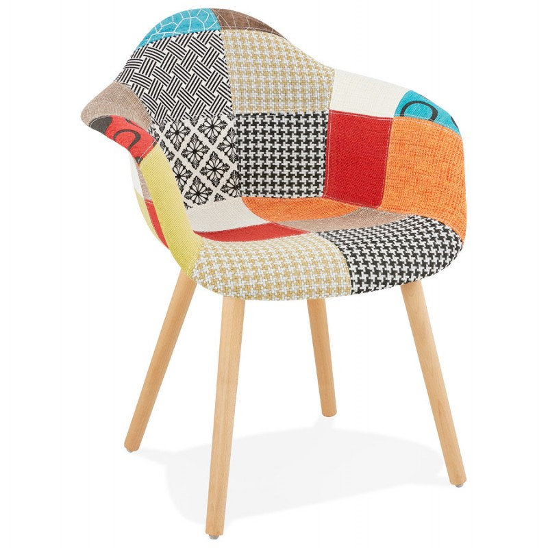 An image of Loco Patchwork Armchair