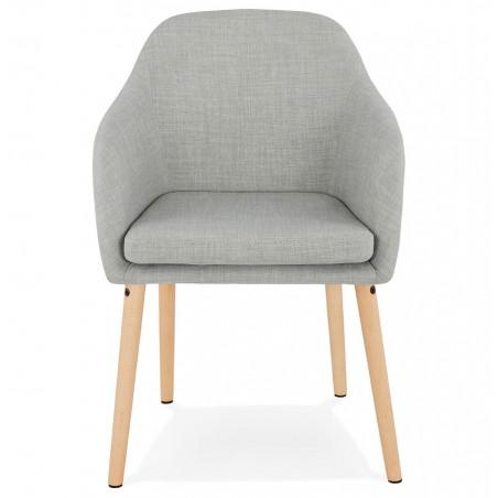 Mulki Scandinavian Style Armchair Front View