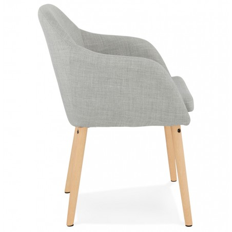 Mulki Scandinavian Style Armchair Side View