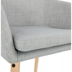 Mulki Scandinavian Style Armchair Seat Detail