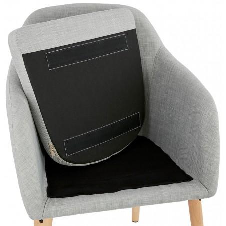 Mulki Scandinavian Style Armchair Under Seat Detail