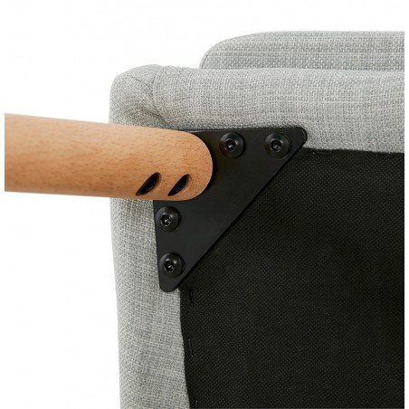Mulki Scandinavian Style Armchair Fixing Detail