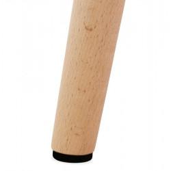 Mulki Scandinavian Style Armchair Leg Detail